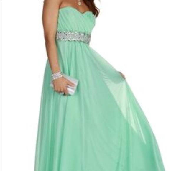 Windsor Dresses | Mint Green Prom Dress From Beautiful Nwt | Poshmark
